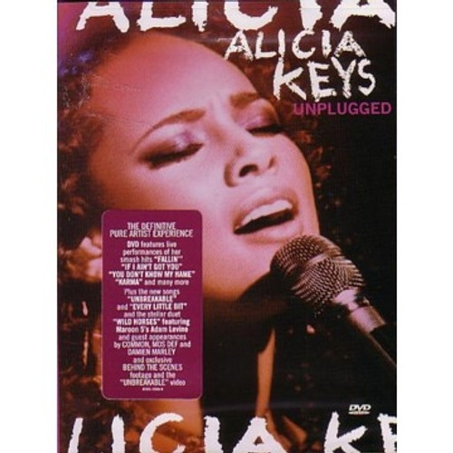 Mtv Unplugged - Alicia Keys (DVD)