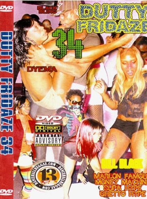 Dutty Fridaze 34 - Various Artists (DVD)