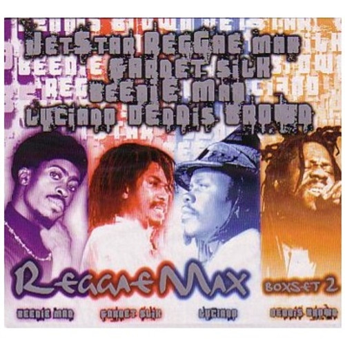 Reggae Max 4-CD Boxset Vol.2 - Various Artists