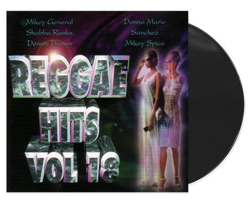Reggae Hits 18 - Various Artists (LP)