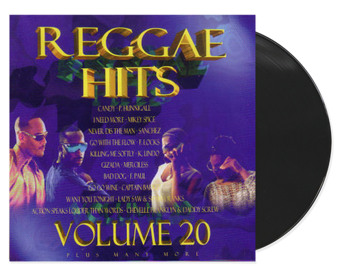 Reggae Hits 20 - Various Artists (lp)