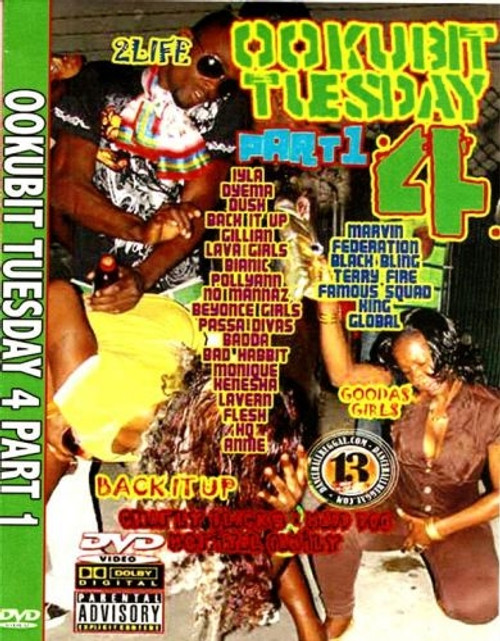 Ookubit Tuesday 4 Pt.1 - Various Artists (DVD)