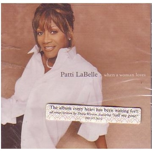 When A Woman Loves - Patti Labelle
