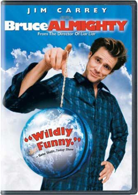 Bruce Almighty - Jim Carrey (DVD)