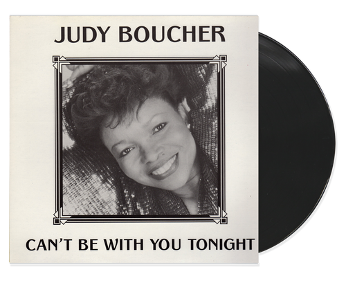 Can't Be With You Tonight - Judy Boucher (LP)
