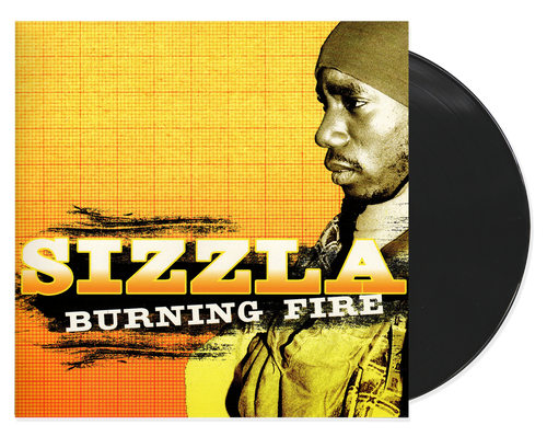 Burning Fire - Sizzla (LP)
