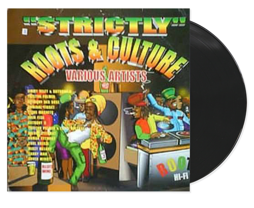 Strictly Roots And Culture - Various Artists (LP)