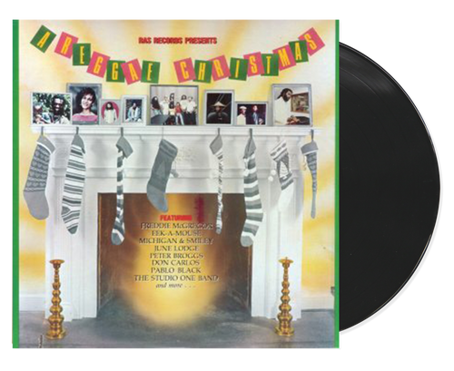 A Reggae Christmas - Various Artists (LP)