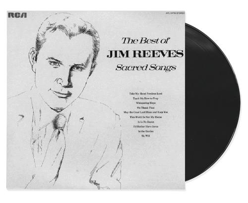 Best Of Sacred Songs - Jim Reeves (LP)
