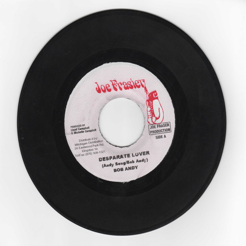 Desperate Lover - Bob Andy (7 Inch Vinyl)