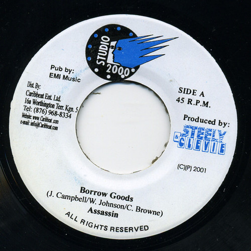 Borrow Goods - Assassin (7 Inch Vinyl)
