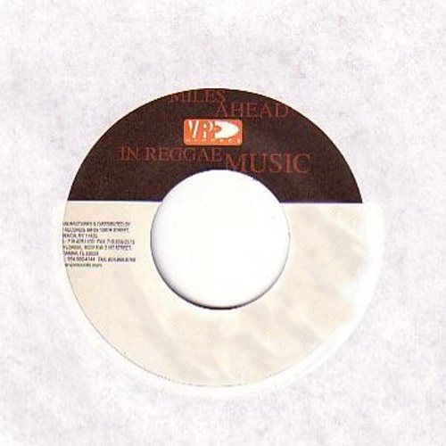 Back Against The Wall - Buju Banton (7 Inch Vinyl)