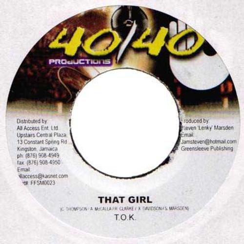 That Girl - T.o.k (7 Inch Vinyl)