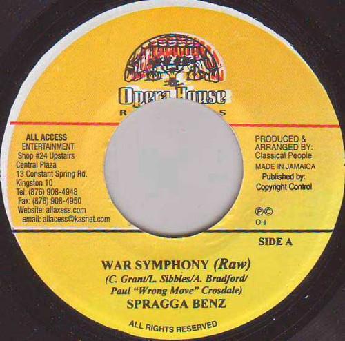 War Symphony - Spragga Benz (7 Inch Vinyl)