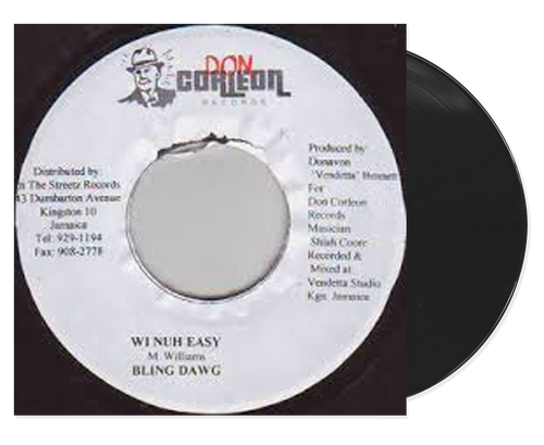 Wi Nuh Easy - Bling Dawg (7 Inch Vinyl)