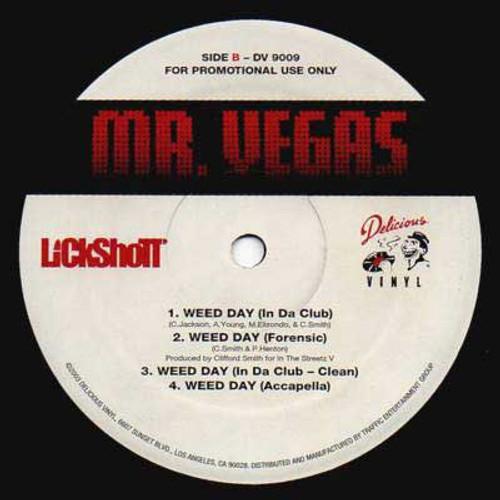 Weed Day - Mr. Vegas (7 Inch Vinyl)
