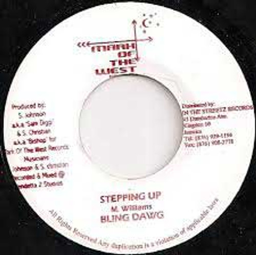 Stepping Up - Bling Dawg (7 Inch Vinyl)