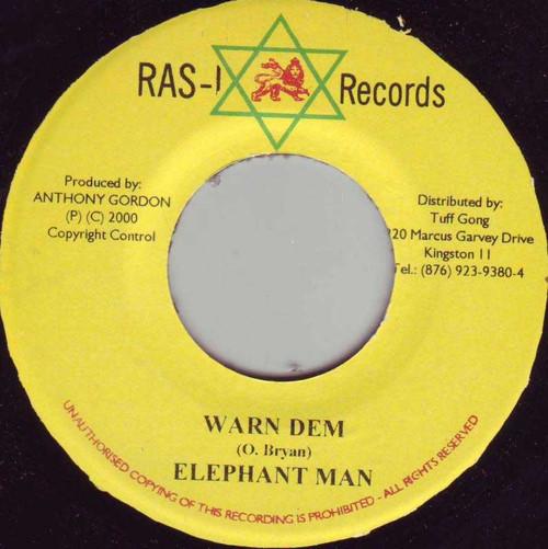 Warn Dem - Elephant Man (7 Inch Vinyl)