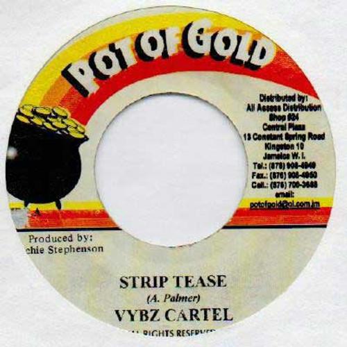 Strip Tease - Vybz Kartel (7 Inch Vinyl)
