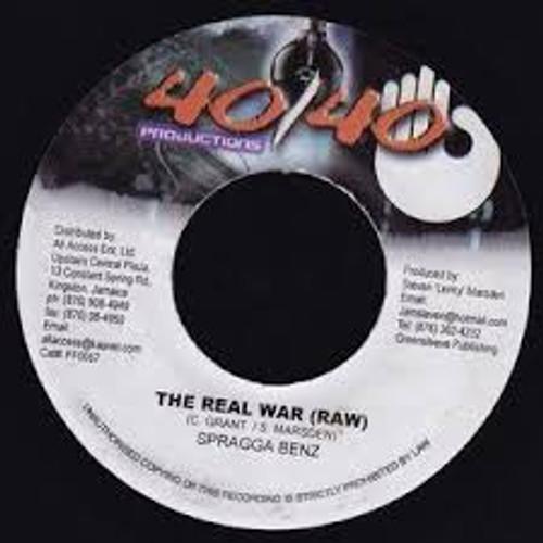 The Real War - Spragga Benz (7 Inch Vinyl)