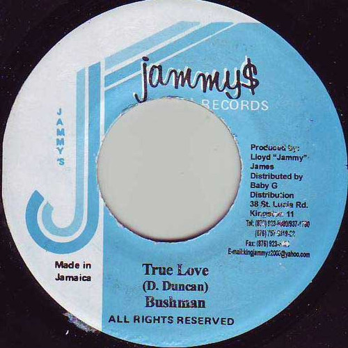 True Love - Bushman (7 Inch Vinyl)