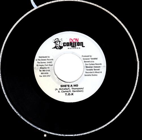 She's A Ho - T.o.k (7 Inch Vinyl)