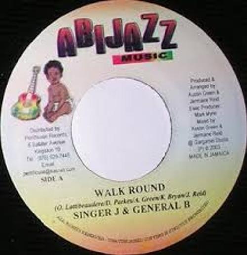 Walk Round - Singer J & General B (7 Inch Vinyl)