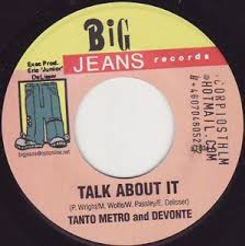 Talk About It - Tonto Metro & Devonte (7 Inch Vinyl)