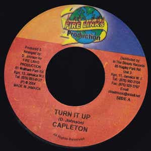 Turn It Up - Capleton (7 Inch Vinyl)