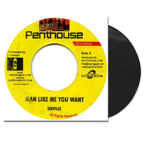 What You Want - Daville (7 Inch Vinyl)