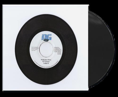 Wikedest Wine - Lukie D (7 Inch Vinyl)
