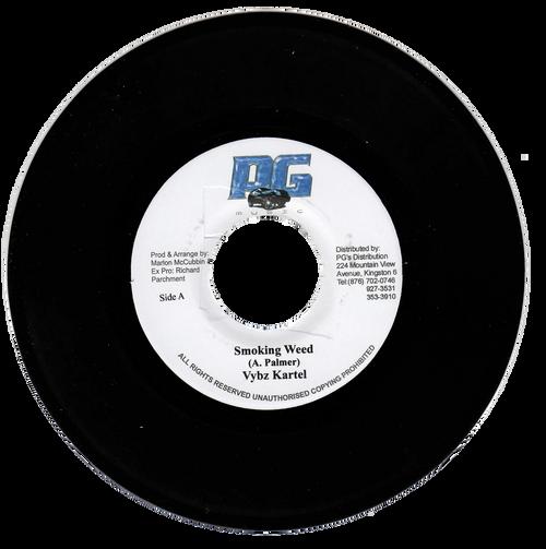 Smoking Weed - Vybz Kartel (7 Inch Vinyl)