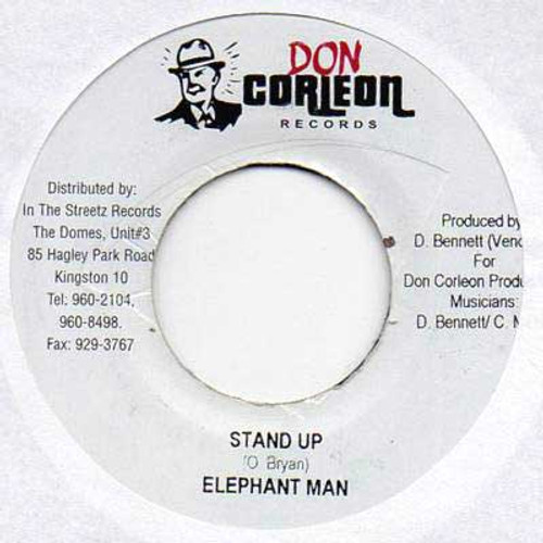 Stand Up - Elephant Man (7 Inch Vinyl)