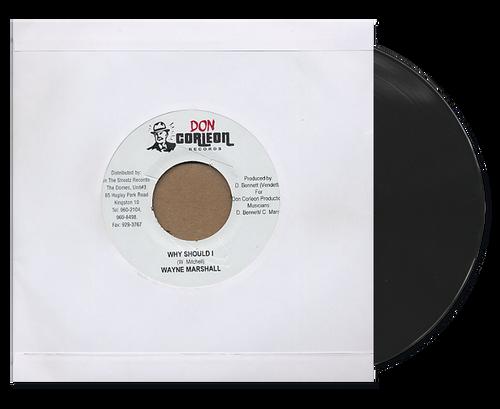 Why Should I - Wayne Marshall (7 Inch Vinyl)