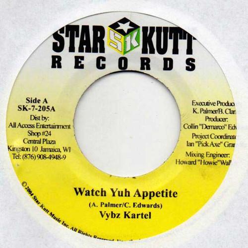 Watch Yuh Appetite - Vybz Kartel (7 Inch Vinyl)