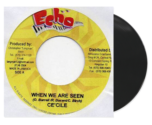 When We Are Seen - Cecile (7 Inch Vinyl)