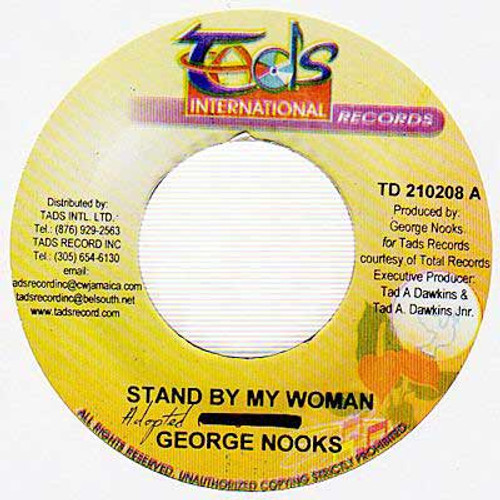 Stand By My Woman - George Nooks (7 Inch Vinyl)