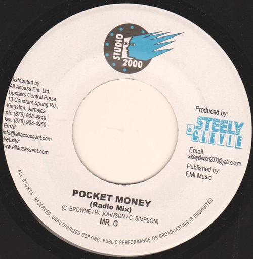 Pocket Money - Mr.G (7 Inch Vinyl)