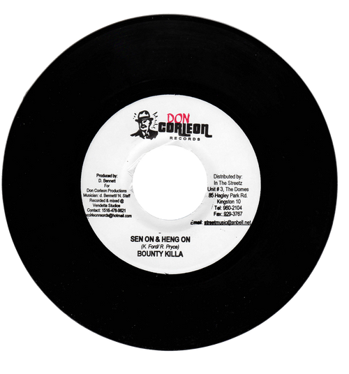Sen On & Heng On - Bounty Killa (7 Inch Vinyl)