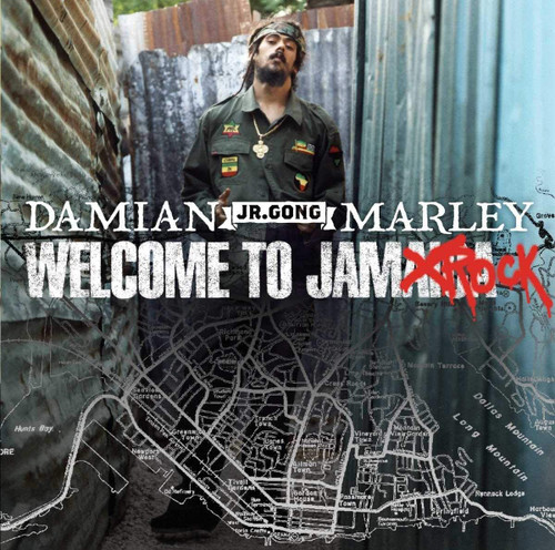 """Welcome To Jamrock(Explicit) - Damian """"Jr.Gong"""" Marley"""