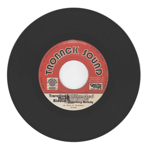 Attracted To You/traveling Man Riddim - Courtney Melody (7 Inch Vinyl)