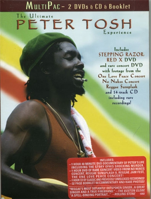 The Ultimate Peter Tosh Experience 2dvds & Cd - Peter Tosh (DVD)