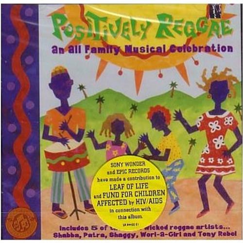 Positively Reggae - Various Artists (LP)