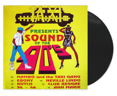 Sound Of The 90's - Various Artists (LP)