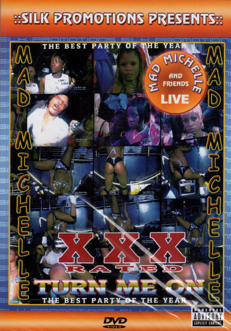 Turn Me On (Xxx Rated) - Mad Michell (DVD)