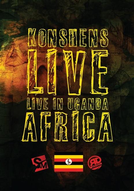 Live In Uganda Africa - Konshens (DVD)