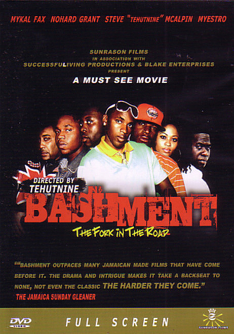 Bashment-the Fork In The Road(Movie) - Various Artists (DVD)