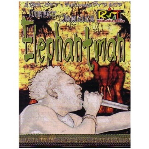 Direct From Jamaica Dvd+cd - Elephant Man (DVD)