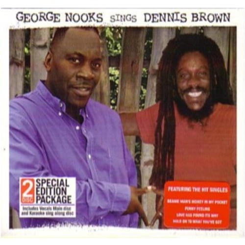 Sings Dennis Brown The Voices Lives On 2CD Set - George Nooks