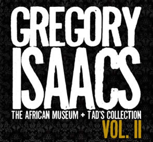 The African Museum Tads Collection Vol.ii 2cd - Gregory Isaacs